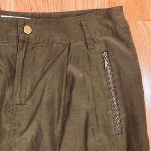 Banana Republic Olive Skirt